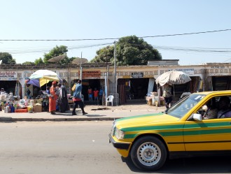 Gambia taxi