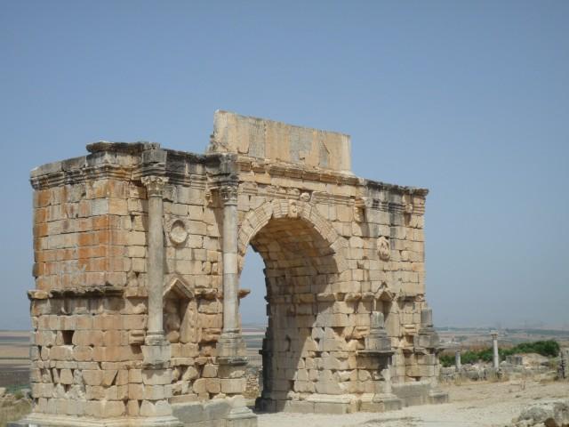 UNESCO werelderfgoed Volubilis