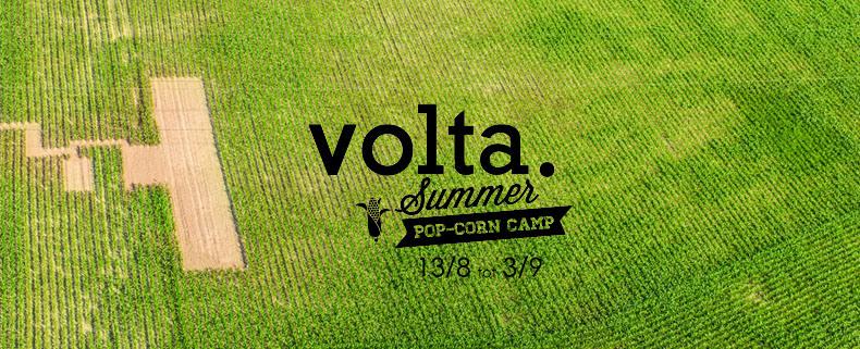 Volta pop-upt met pop-corn summer camp