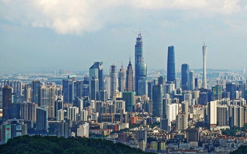 De architecturale parels van Guangzhou